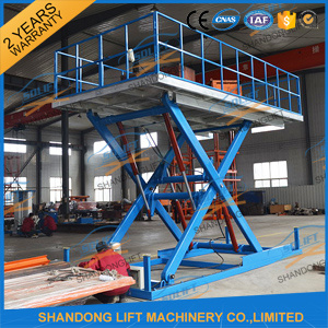 Hydraulic Electric Scissor Car Lift for Home Garage or Parking pictures & photos