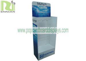 Cardboard Display Stand with Hooks POS Display Stand Retail Display
