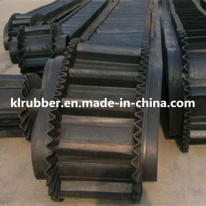 Large Angle Corrugated Sidewall Rubber Conveyor Belt pictures & photos