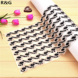 Wholesale Hot Fix Rhinestone Mesh Trimming with Glue on Back pictures & photos