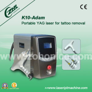 K10 1064nm/532nm Q Switched ND YAG Laser for Eyeliner Removal pictures & photos