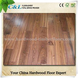 for Indoor Popular American Walnut Hardwood Flooring pictures & photos