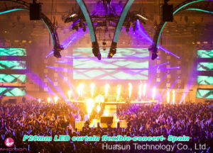 Rental Large Stadium Flexible LED Curtain P20mm for Live Show