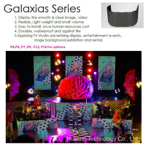 Galaxias P12 LED Video Wall for Outdoor Rental pictures & photos