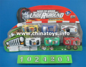 Promotion Plastic Toys Pull Back Car (1024201) pictures & photos