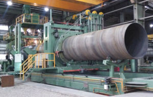 Spiral Pipe Machine Pipe Plasma Cutting pictures & photos