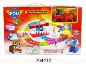 Promotion Gift Plastic Toy Pull Back Track Car (825011) pictures & photos