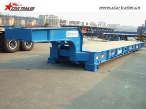 40FT Roll Trailer RO-RO Trailer in Wharf pictures & photos