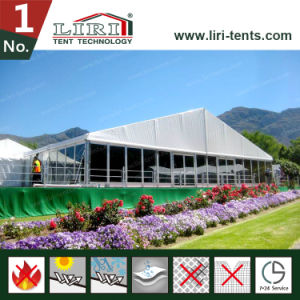 5000 Seaters White Tent Outdoor Exhibition Tent with Advertising Wall pictures & photos