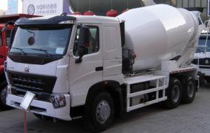 8cbm Sinotruk HOWO 6X4 Mixer 371 HP Concrete Mixer Truck
