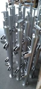 Stair Stainless Steel Baluster/Handrail Post Fast Moving Designs Easy Installation pictures & photos