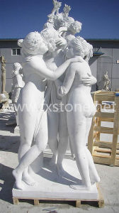 Hand Carved Marble Sculpture Three Grace pictures & photos