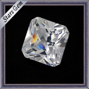 Square Cut Cubic Zirconia Gemstone Loose Beads pictures & photos
