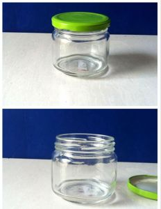 180ml Glass Honey Jar Pickle Jar with Screw Cap pictures & photos