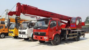 7000kg Truck-Mounted Crane pictures & photos
