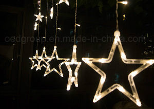LED Twinkling Stars LED Curtain Lights Connectable Curtains Lights pictures & photos