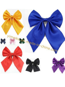 Office Bank Lady Fashion Unicolor Bowtie Collar Flower Wholesale pictures & photos