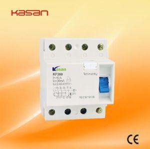 RCCB ELCB F360, 4p Residual Current Circuit Breaker pictures & photos
