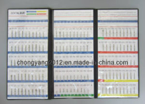 150PCS Dental Diamond Bur Sample Book pictures & photos