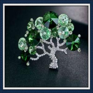 New Design Fashion Tree Glass Stones Fashion Jewellery Brooch