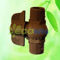 Watering Irrigation Male and Male Thread PVC Ball Valve pictures & photos