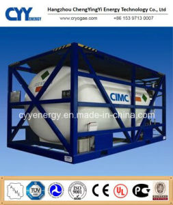 Cryogenic Liquid Nitrogen Oxygen Argon LPG ISO Tank Container pictures & photos