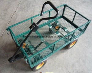 Hot Sales 350kgs Capacity Lawn and Garden Wagon Cart/Trolley (TC1840A) pictures & photos
