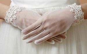 Classic Lady Satin Bridal/Wedding Gloves