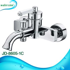 2 in 1 Wall Mounted Bathtub Waterfall Bathroom Faucet pictures & photos