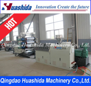 PVC Extrusion Line Plastic Sheet Extruder pictures & photos