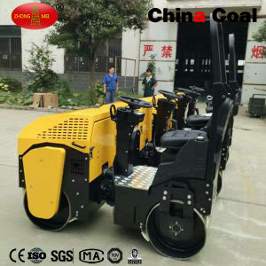 Constrcution Equipment Two Wheels Zmh-1000 Mini Road Roller pictures & photos