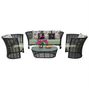 Patio Furniture Backyard Seating Green Garden Outdoor Furniture (S0199) pictures & photos