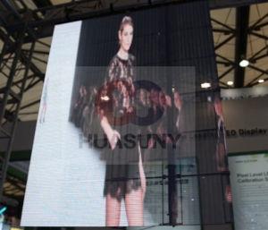 Glass Transparent LED Display for Advertising pictures & photos
