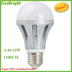 Die-Casting Aluminum LED Bulb A60 10W E27 pictures & photos