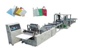 China New Non-Woven Bag Making Machine pictures & photos