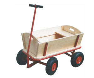 Wooden Wagon Tool Cart for Baby Use (Tc1812) pictures & photos
