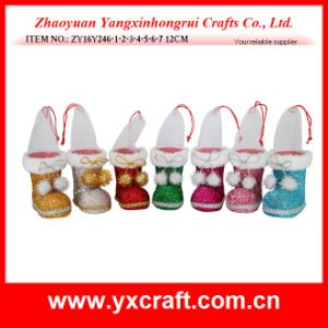 Christmas Decoration (ZY16Y246-1-2-3-4-5-6-7) Christmas Flat Ornaments Christmas Craft Napkin Holder pictures & photos
