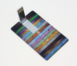 Colourful Customed Plastic Card USB Flash Driver.