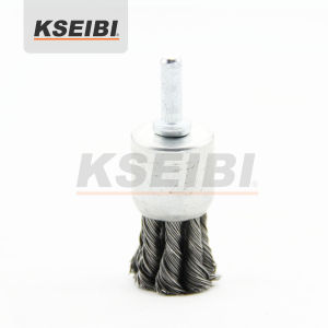 Twisted Knot End Brush with Shank - Kseibi pictures & photos