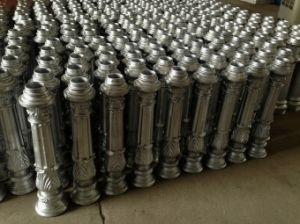 Aluminum Street Lighting Pole Base with Sand Casting pictures & photos