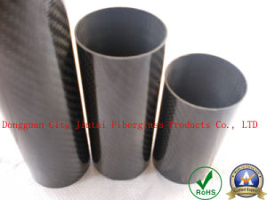 Carbon Fiber Pipe with High Glossy Surface pictures & photos