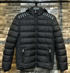 Quilted Stylish New Design Men Winter Coat with Hood 15111058 pictures & photos
