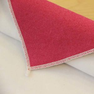 Short Velvet Wool Laminated Fabric for Coat
