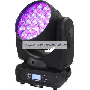 Osram LED Zoom19PCS 12W RGBW 4in1 LED Wash Moving Head Light