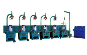 Pulley Type Wire Drawing Machines with CE (LW1-6/550) pictures & photos