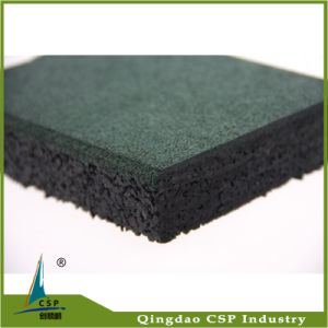 20mm Thickness Rubber Floor Tile for Park Ground pictures & photos