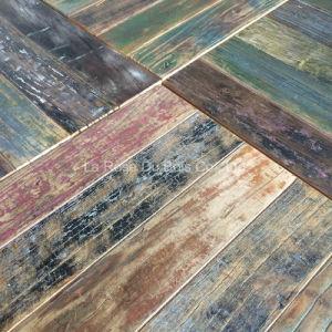 Reclaimed Elm Versailles Wood Flooring/Engineered Mosaic Flooring