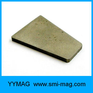 Magnet Manufacturer Rounded Corners Trapezoid SmCo Magnet pictures & photos