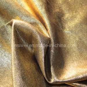 Warp Suede Fabric with Stamping (SL815-2) pictures & photos
