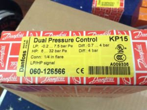 Danfoss High/Low Pressure with Auto/Manual Reset Switch Kp15 (060-126566) pictures & photos